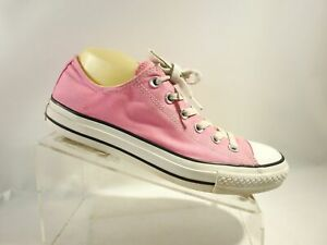 Details about Converse All Star M9007 Size 9.5 M Pink Canvas Lace Up Sneakers Shoes For Women