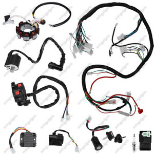 image is loading electric-wiring-harness-wire-loom-910144-for-atv-
