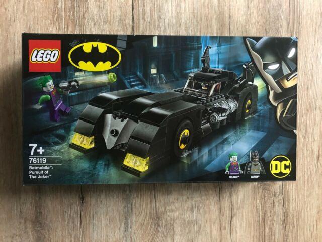 Batman Batmobile: Verfolgungsjagd mit dem Joker - LEGO - DC - Nr. 76119