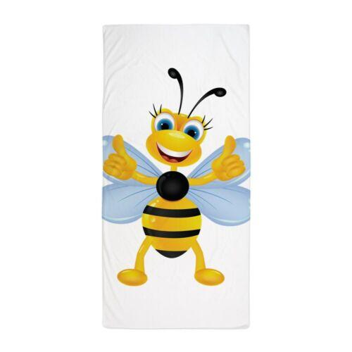 CafePress Thumbs Up Bee Beach Towel 1209624764