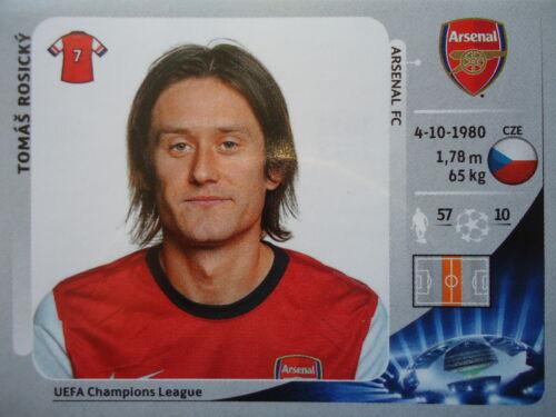 Panini 95 Tomas Rosicky Arsenal FC UEFA CL 2012/13 Fußball