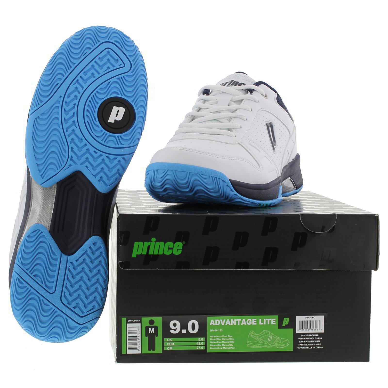 Principe vantaggio da lite Uomo bianco tutte corte scarpe da vantaggio tennis formatori dimensioni 24c2c7
