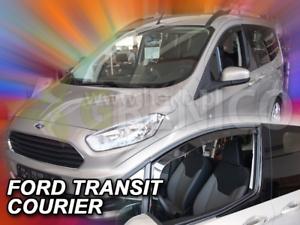 FORD TRANSIT COURIER 2//4-portes 2013-prés Deflecteurs de vent 2-pcs HEKO Bulles