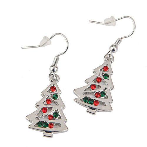 Stud Crystal Gift Lady Christmas Dangle Earrings Drop Earrings Earrings