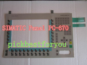 NEW-SIEMENS-PC670-6AV7722-1AC10-0AD0-Membrane-Keypad-60-days-warranty-H1620-YD