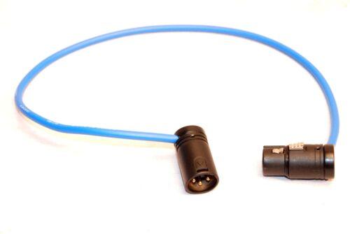 XLR JUMPER LECTROSONICS SOUND DEVICES ZAXCOM NEW LOW PROFILE PLUG CANARE CABLE