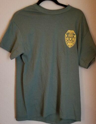 Vintage Twin Peaks Sheriff Department T Shirt Davi