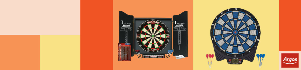 Shop event Our Best Selling Darts Equipment Get today using Free Click and Collect.