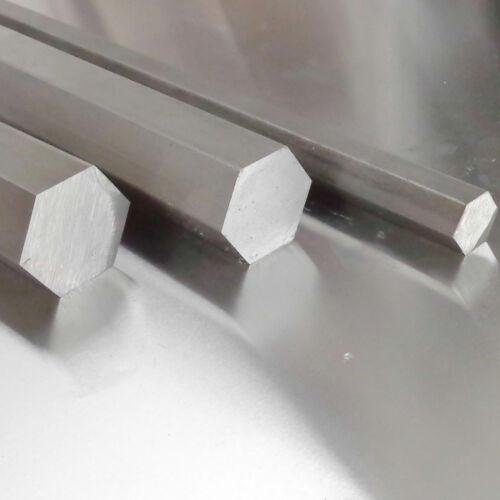 Edelstahl Sechskant Sw 15mm 1.4305 h11 Länge wählbar VA V2A Vollmaterial 6-kant