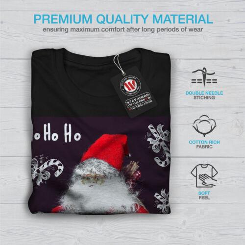 design graphique Wellcoda Santa Mignon Jouet Homme T-shirt à manches longues de Noël