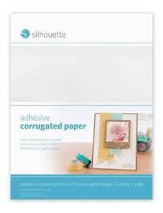 SILHOUETTE-Adhesive-Corrugated-Paper
