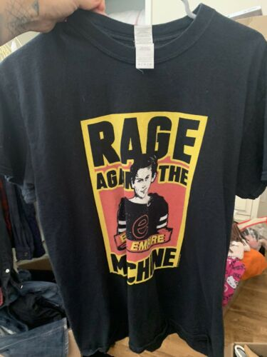 vintage rage against the machine shirt Medium