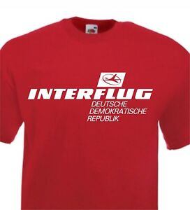 b562dbfd132 Image is loading INTERFLUG-T-Shirt-Retro-DDR-German-Airlines-S-