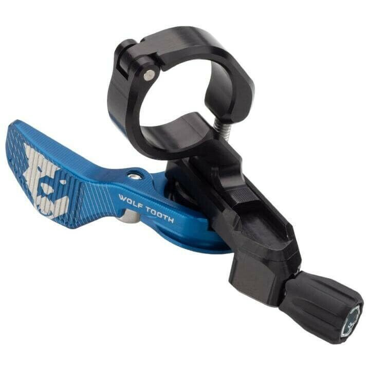 Mechanical dropper seatpost lever blu Wolftooth ciclismo