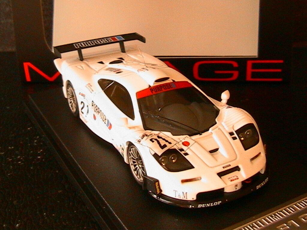 MCLAREN F1 GTR  21 IDA HITOTSUYAMA FUJI 1000KM 1999 HPI RACING 8534 1 43 1000 KM