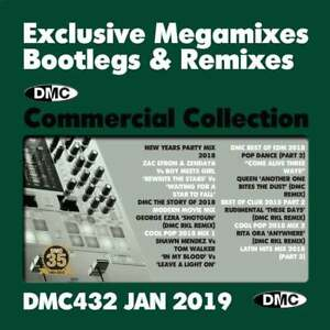 Details about DMC Commercial Collection Issue 432 Bootleg Remix & Megamix  DJ Double Music CD