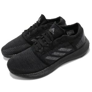 adidas-PureBOOST-GO-Black-Grey-Carbon-Men-Running-Casual-Shoes-Sneakers-F35786