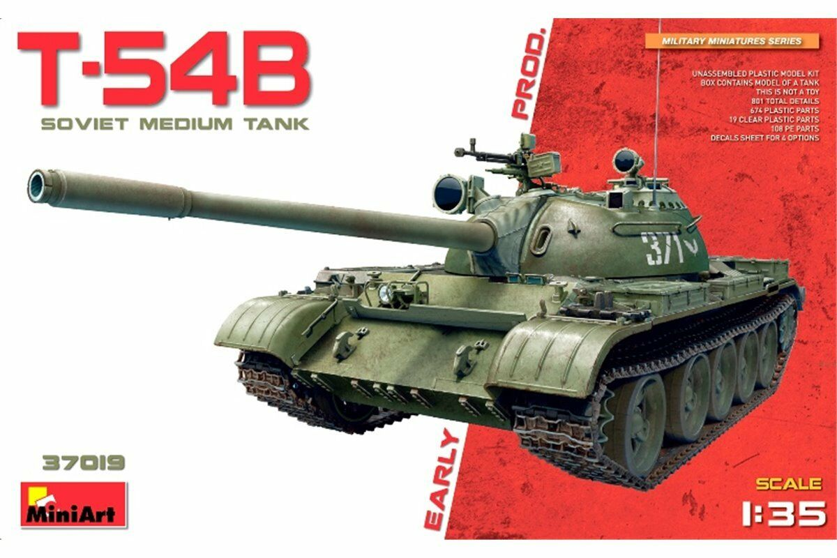 MiniArt 37019 1 35 T-54B Early Production