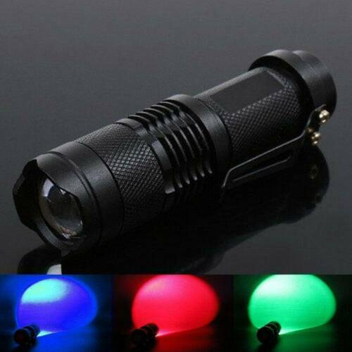 Beam Light LED Flashlights Night Vision Torch Fit Astronomy Camping Hunting UK