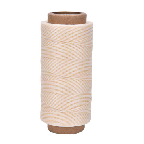 260m 1MM LeatherSewing Wax Thread For Chisel Awl Upholstery Shoes Luggage Too Wy