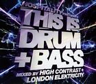 This is Drum & Bass: Mixed By High Contrast & London Elektricity by High Contrast/London Elektricity (CD, Sep-2009, 2 Discs, New State)