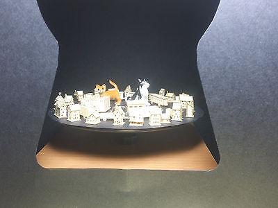 Disciplinato Spese Di Spedizione 0 € In Germania 47 Bastelset Kit Popular 1/2000 15 House Cars Trees-mostra Il Titolo Originale Numerosi In Varietà