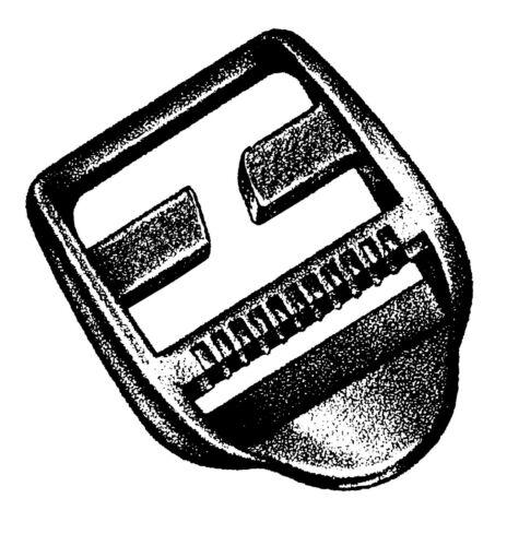 25 mm 2 Stück auf Karte Dreisteg Ladderloc Spezial