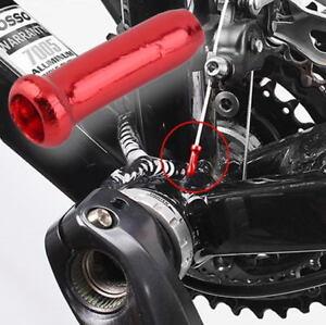 50 Pcs Bike Brake Cable End Cap Bicycle Derailleur Shifter Cable End Cap