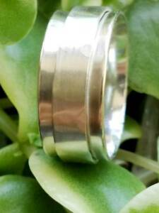 Solid-925-Sterling-Silver-Spinner-Ring-Meditation-Ring-Statement-Ring-Size-sr307