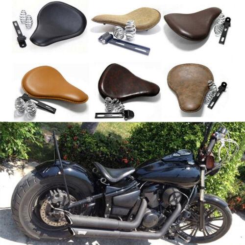 Motorcycle Bobber Solo Seat Spring For Kawasaki Vulcan 1500 900 800 750 Custom W