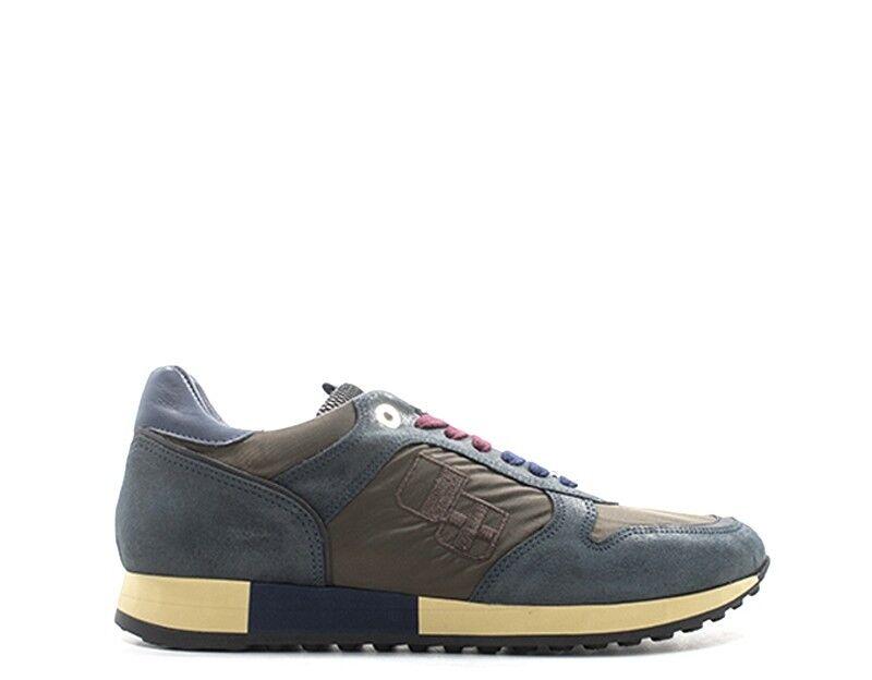 shoes D'ACQUASPARTA Homme blue en daim,Tissu JESSEU250-BL