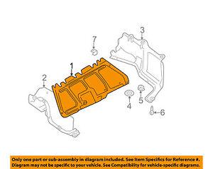 vw volkswagen oem beetle splash shield under engine center shieldimage is loading vw volkswagen oem beetle splash shield under engine