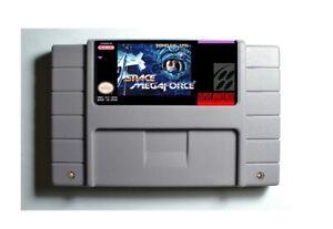 Space-Megaforce-SNES-16-Bit-Game-Cartridge-USA-NTSC-Only-English-Language