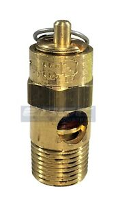 """America Made 1//4/"""" NPT Air Compressor Tank Safety Release Pop Off Valve 35 PSI"""