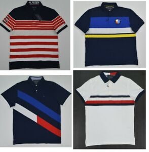 NWT-Men-039-s-Tommy-Hilfiger-Short-Sleeve-Stretch-Polo-Shirt-XS-S-M-L-XL