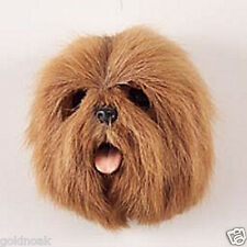 (1) BROWN LHASA APSO DOG MAGNET! Go to sellers other items for more magnets.