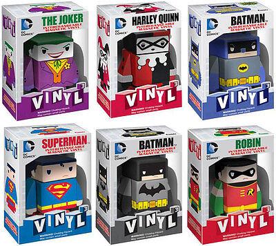 DC Comics Vinyl Cubed New Official In Box Superman//Joker//Batman//Harley Quinn
