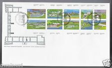 Canada FDC 1982 $3.20 Canadian Forts OFDC Cachet, Unaddressed FDC - Sc 992a