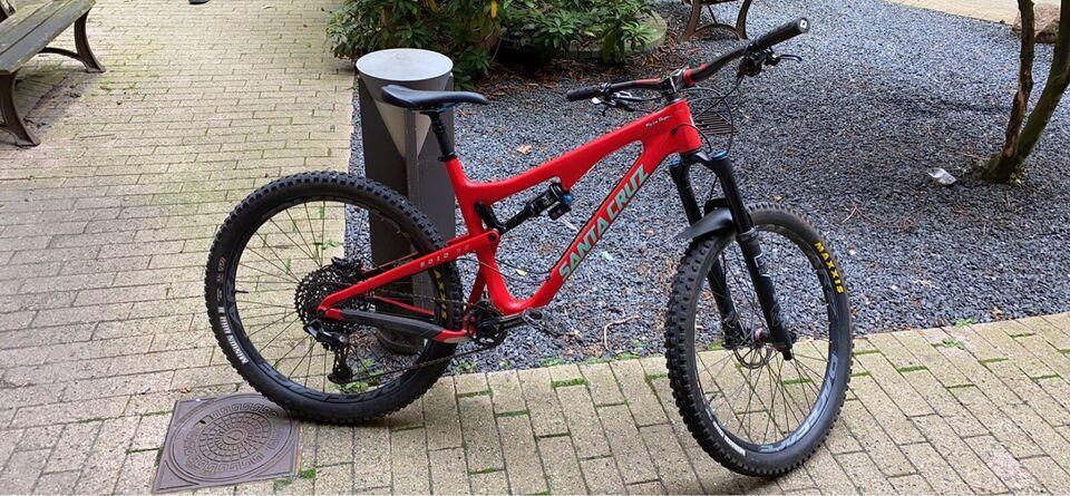 Santa Cruz 5010 Carbon CC, full suspension, Large tommer