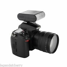 Mini DSLR Camera Slave Flash Speedlite for Canon Pentax Nikon Panasonic Fujifilm