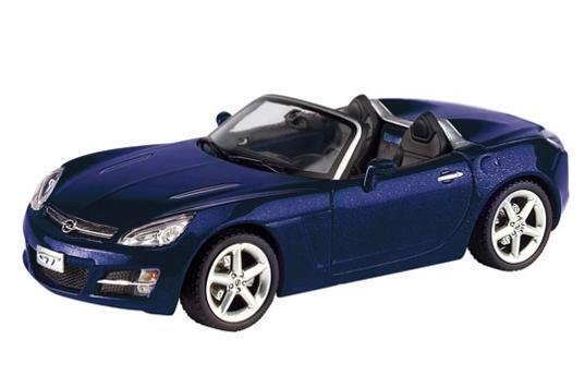 OPEL GT GT GT CABRIO Schuco bleu 1 43 865f05