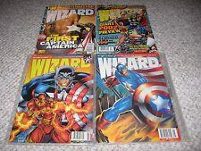 Wizard The Comic Magazine Avengers Thor Captain America 1995