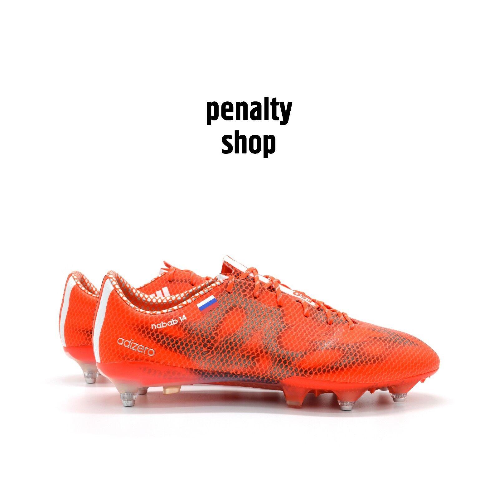 4cec3d9cf Adidas adiZero F50 SG M29346 9 US Kirill Nababkin PFC CSKA Match Worn Boots  RARE