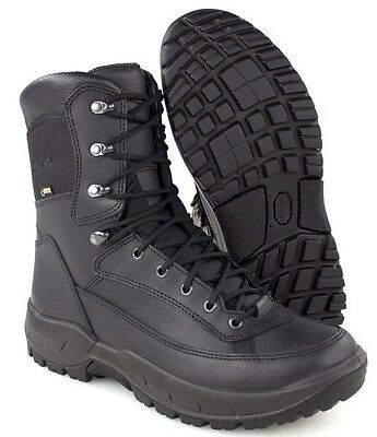 BRITISH ARMY - LOWA RECON GORETEX BLACK BOOTS - VARIOUS SIZES - NEW IN BOX