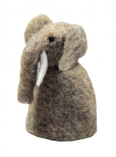 Eierwärmer aus Filz für den fröhlichen Frühstückstisch Tischdeko Elefant