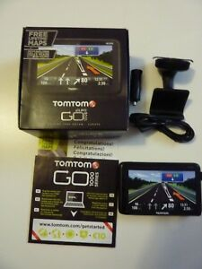 Details about BOXED TomTom GO LIVE 1005 LIFETIME MAPS Europe inc  UK+IRE(Latest Model) 5