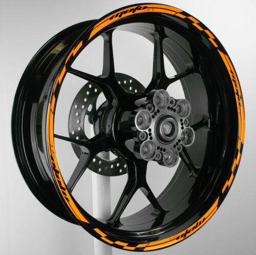 Wheel Rim Stripes Tape Decals KTM rc8 690 Duke 1290 Super R 125 390 SMC Stickers
