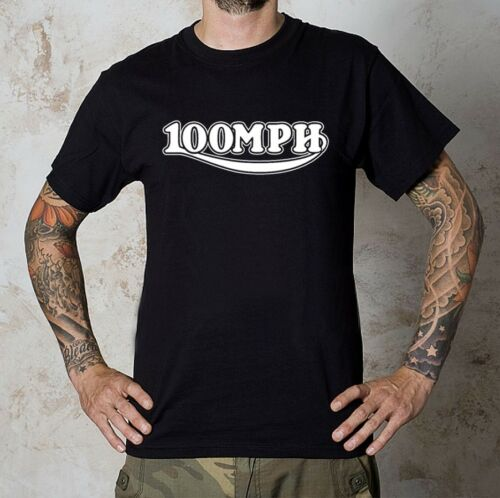 x NEW NOT A TRIUMPH PRODUCT SIZES S//XXXL !! TRIUMPH STYLE 100MPH LOGO T-SHIRT
