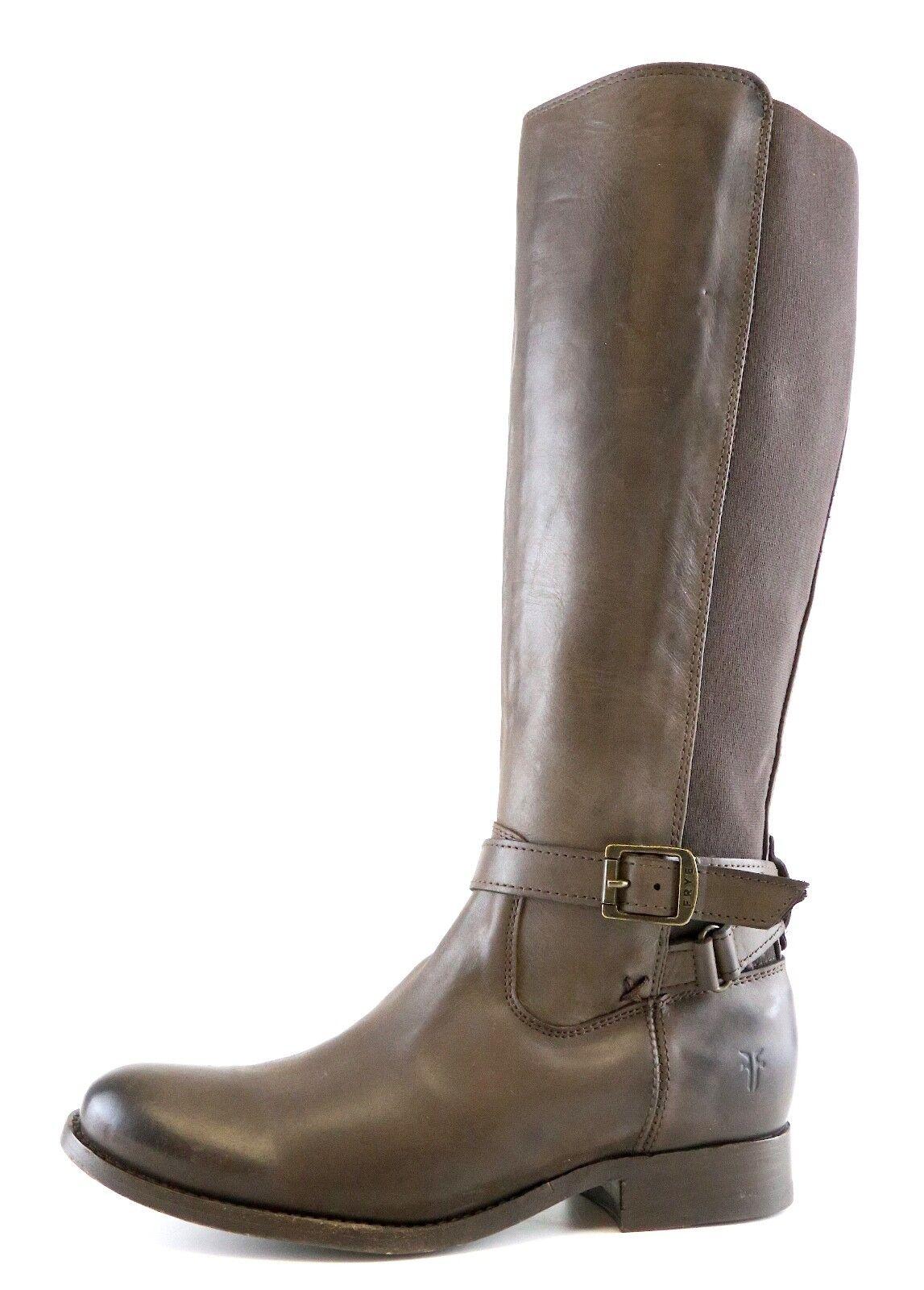 Frye Melissa Gore Leather Boot Brown Women Sz 7 B 6805 *