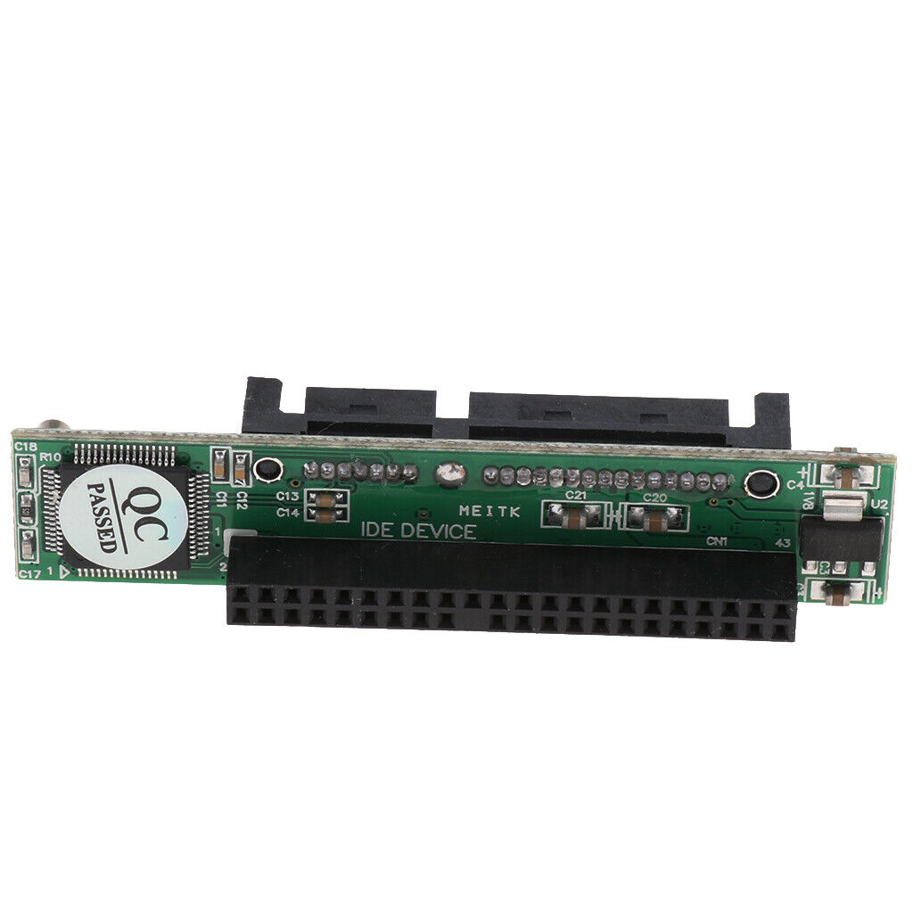 2.5 Inch IDE to SATA To 44 Pin IDE Female Card Adapter Converter For HDD SSD